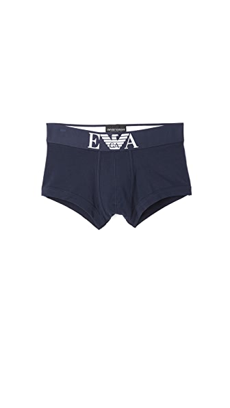 Emporio Armani Stretch Cotton Trunks