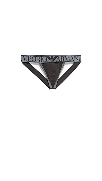 Emporio Armani Magnum Stretch Cotton Jockstrap
