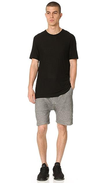 Emporio Armani French Terry Sweat Shorts