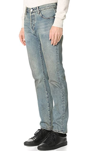 Earnest Sewn Allen Slim Straight Jeans