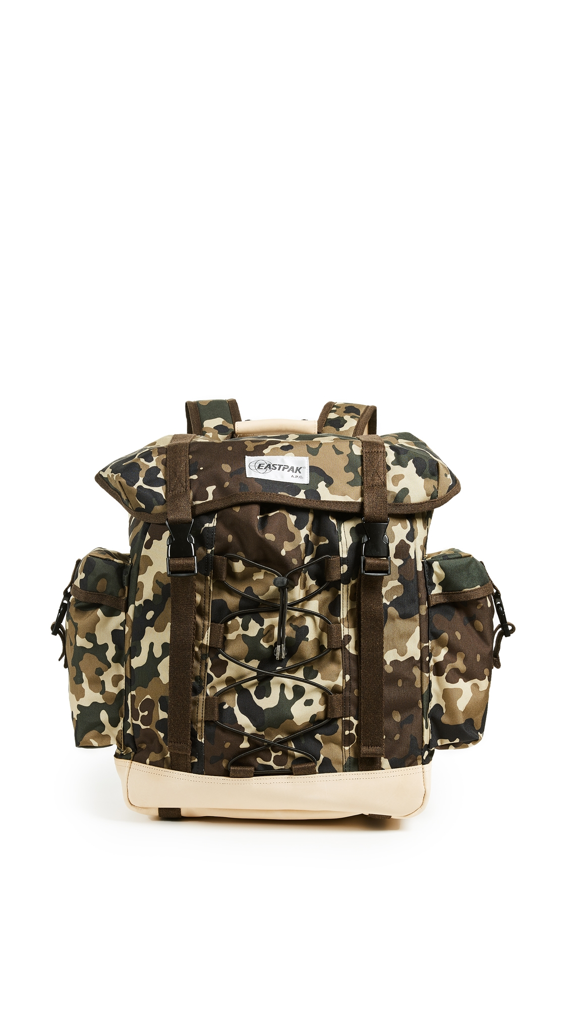 X A.P.C. CAMO BACKPACK