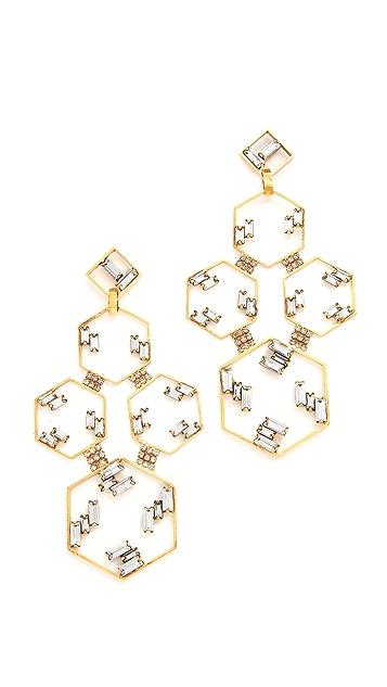 Erickson Beamon Geometry One Earrings