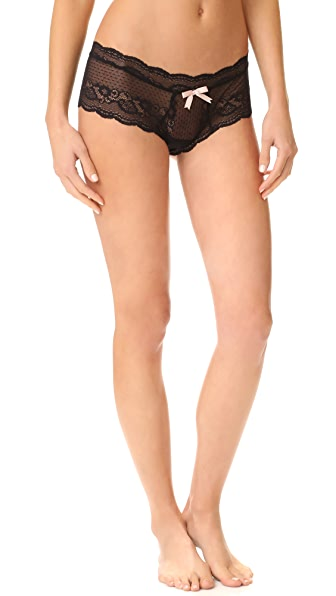 Eberjey Anouk Lace Briefs In Black