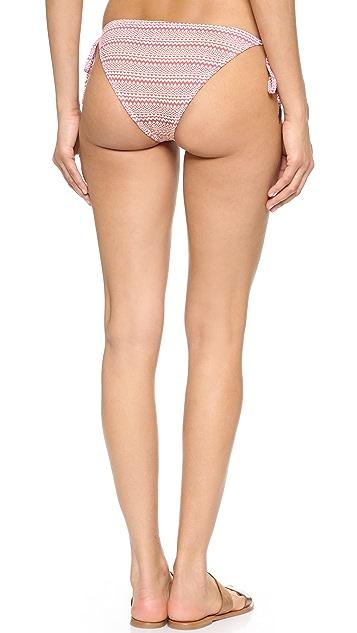 Eberjey Heart Eva Bikini Bottoms