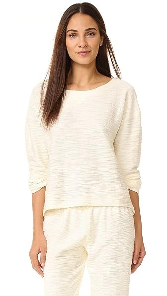 Eberjey Cleo Long Sleeve Pajama Top at Shopbop