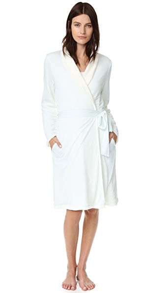 Eberjey Классический халат Alpine Chic
