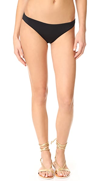 Eberjey So Solid Valentina Bottoms - Black