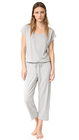 Eberjey Darby Cropped Jumpsuit at Shopbop