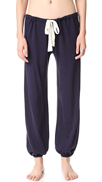 Eberjey Heather Cropped PJ Pants