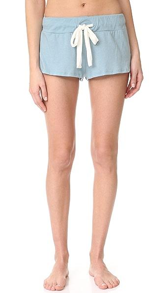 Eberjey Heather Pajama Shorts