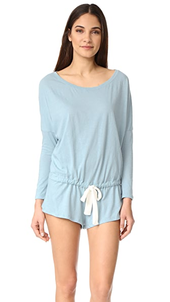 Eberjey Heather Romper at Shopbop