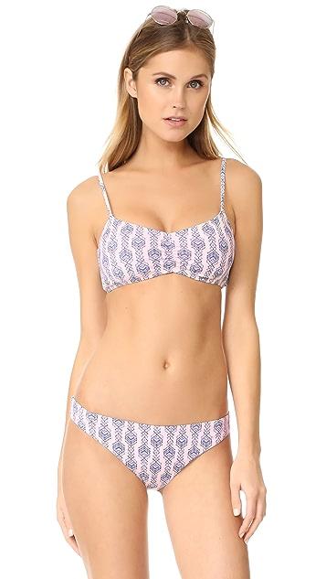 Eberjey Geo Garland Nadia Bikini Top