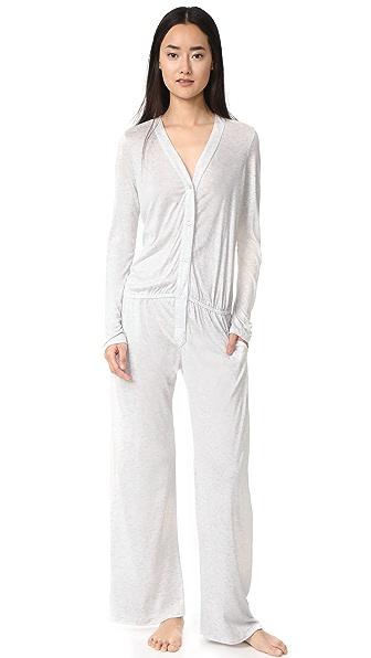 Eberjey Jessie s Girl Pajamas - Pearl Heather Grey