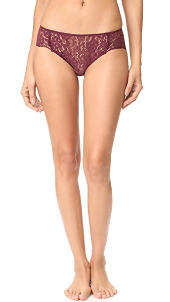 Eberjey Lila Hipster Panties - Vineyard Wine