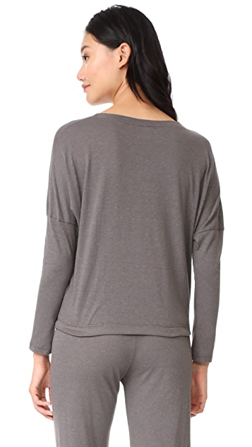 Eberjey Heather Slouchy Tee