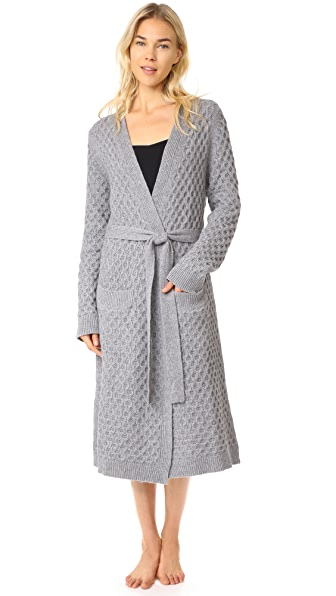 Eberjey Ila Robe - Heather Grey