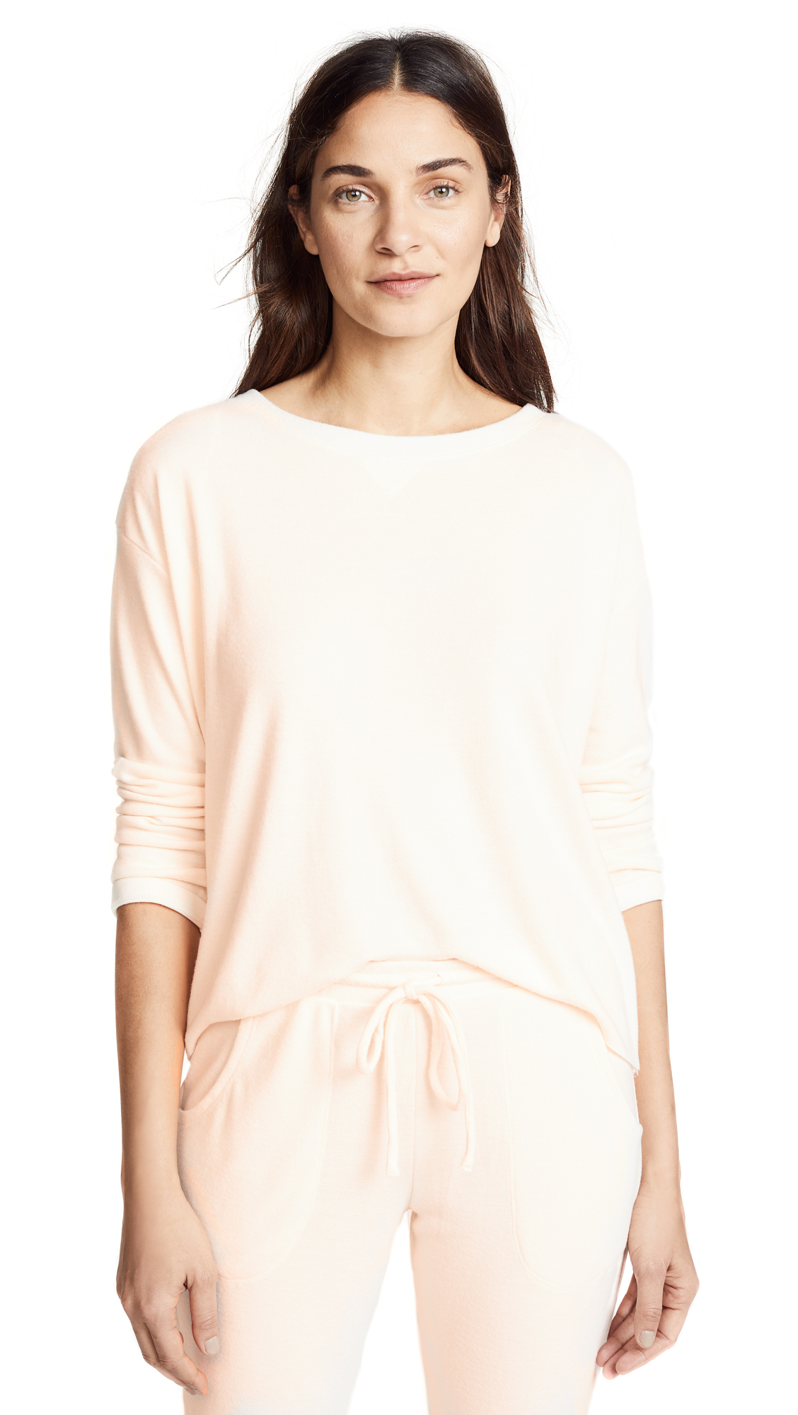 EBERJEY MINA LONG SLEEVE SWEATSHIRT