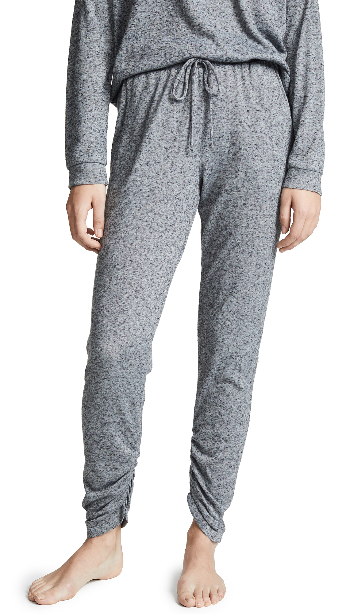 Eberjey Bobby Camp Pants - Heathered Grey