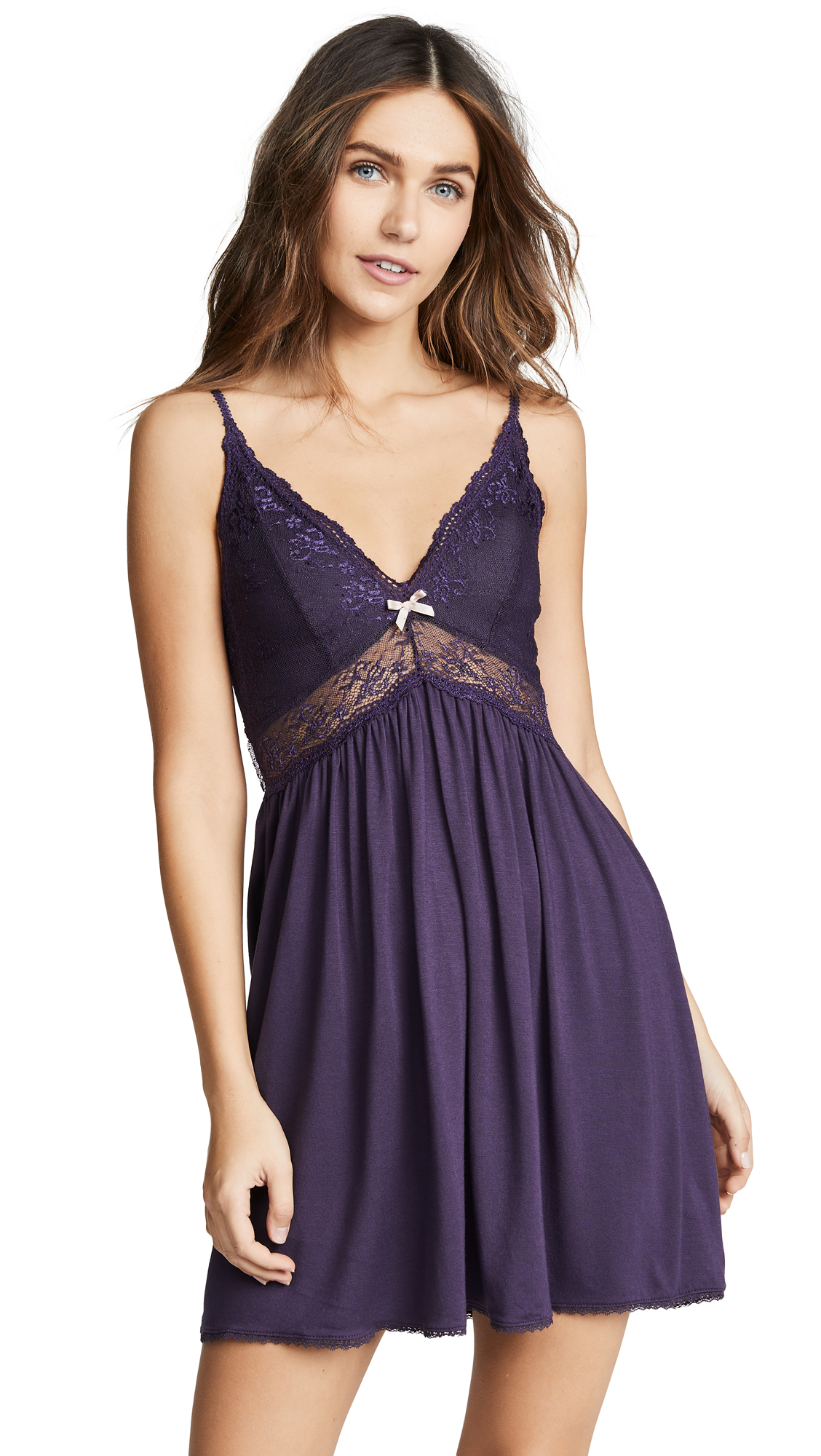 Colette The Mademoiselle Jersey Chemise in Mysterioso