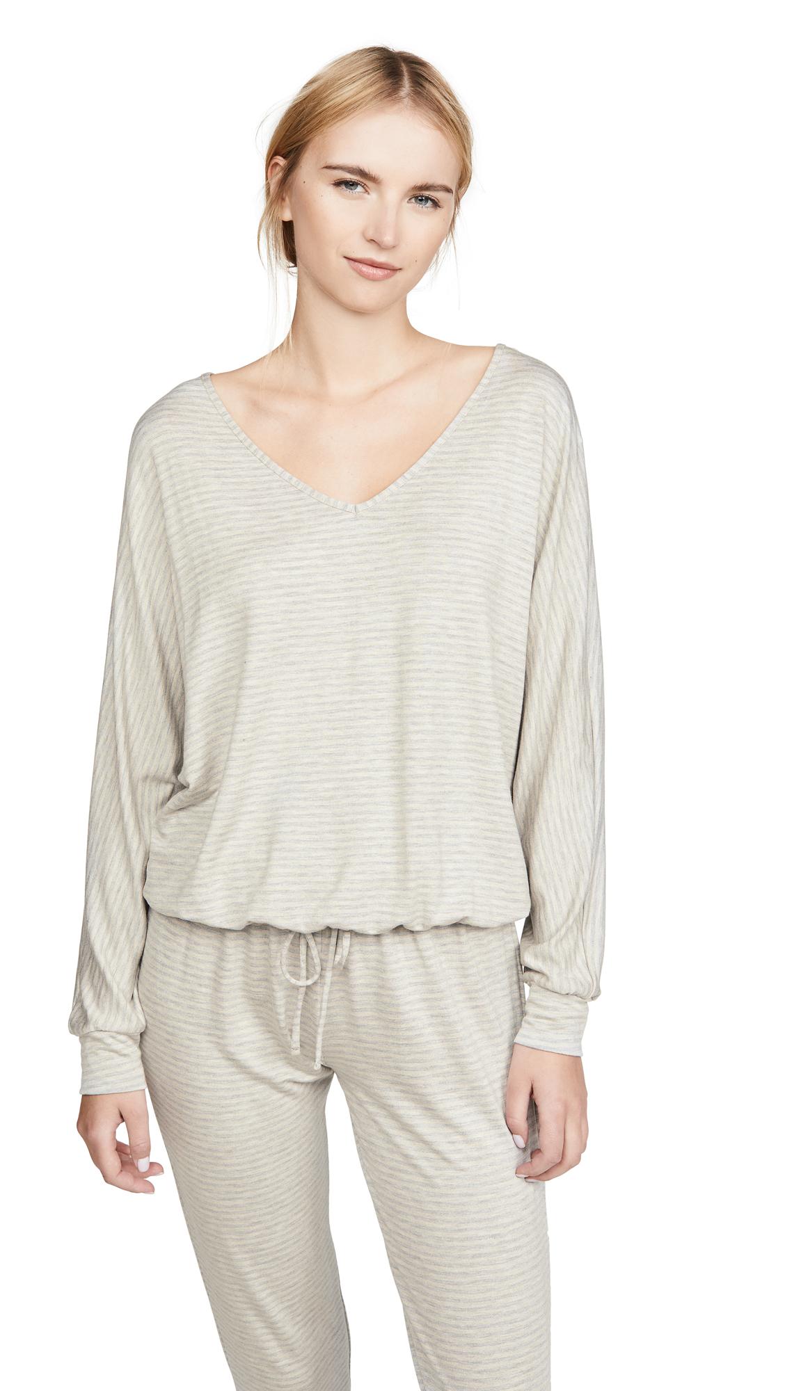 Buy Eberjey online - photo of Eberjey Sadie Stripes Dolman Sleeve Top