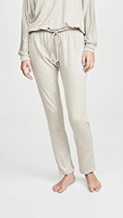 Eberjey Sadie Stripes Slim Pants