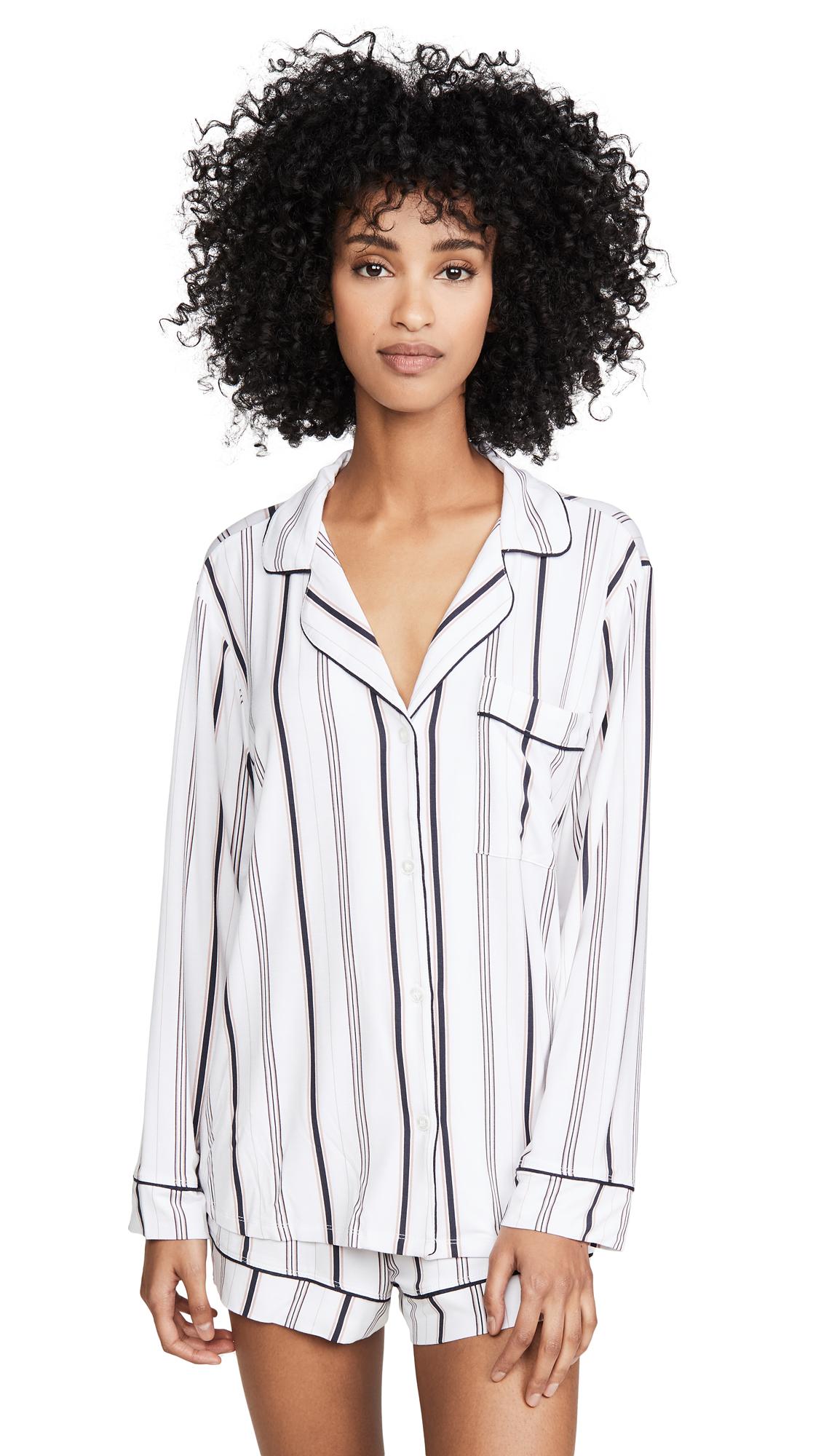 Buy Eberjey online - photo of Eberjey Sleep Chic Long Sleeve PJ Set