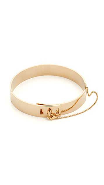 Eddie Borgo Safety Chain Choker Necklace