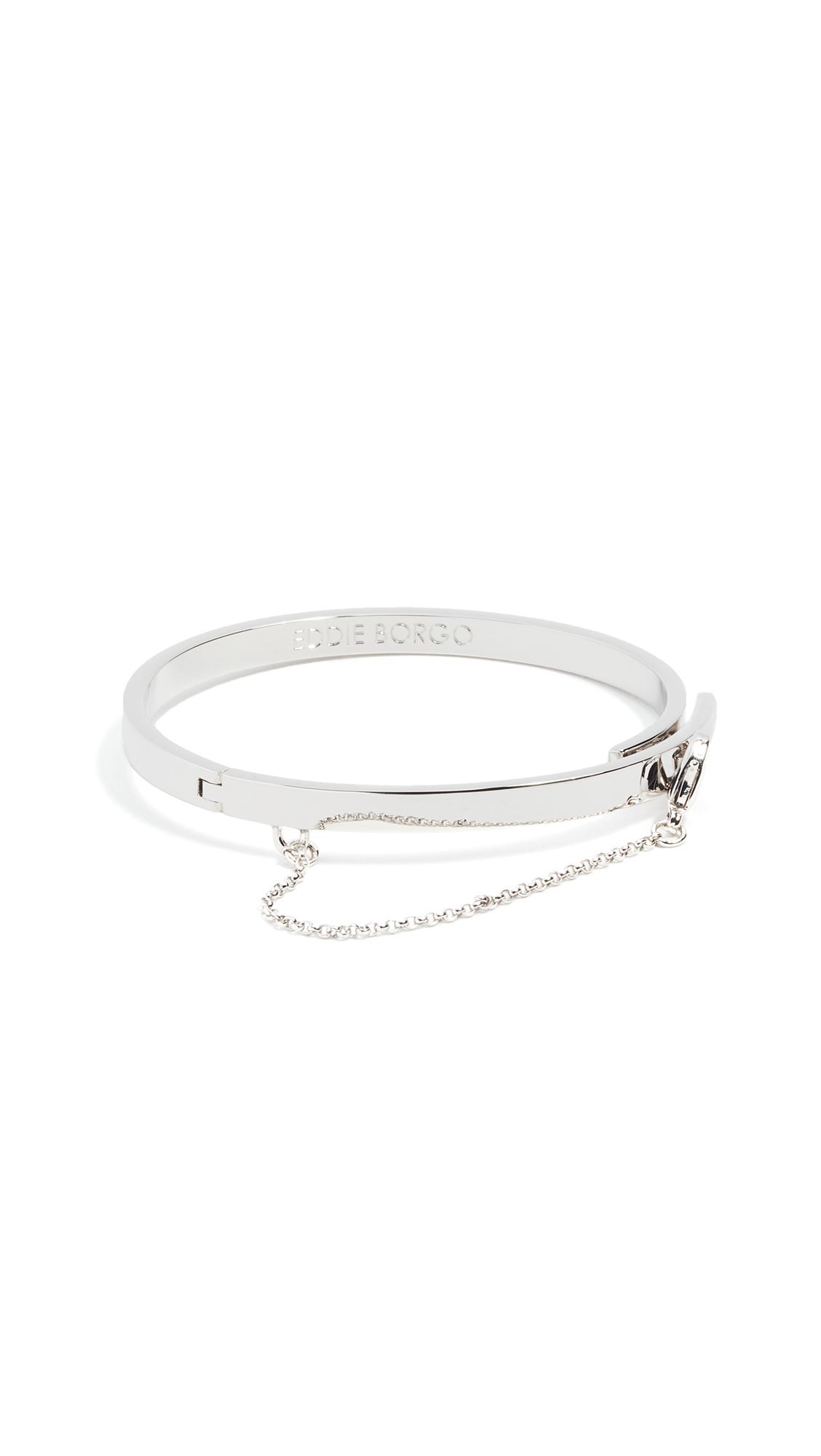 Eddie Borgo Extra Thin Chain Bracelet - Silver