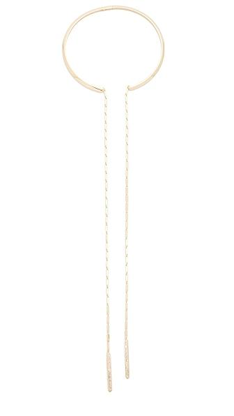 Eddie Borgo Peaked Chain Drop Collar