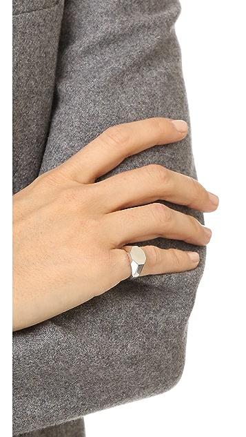 Eddie Borgo Octagon Signet Ring