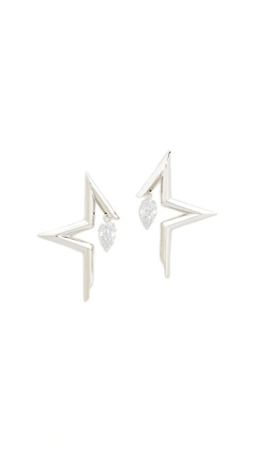 Eddie Borgo Mercury Earrings
