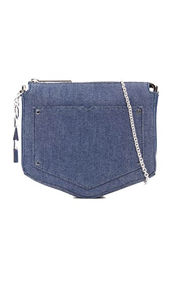 Eddie Borgo Denim Cross Body Bag - Denim