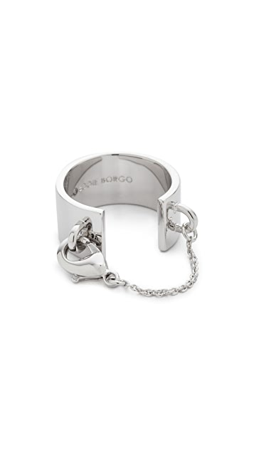 Eddie Borgo Safety Chain Ring