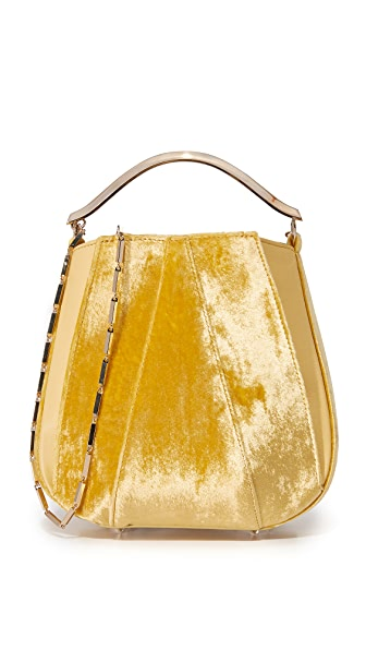 Eddie Borgo Pepper Mini Pouchette Bag - Amber