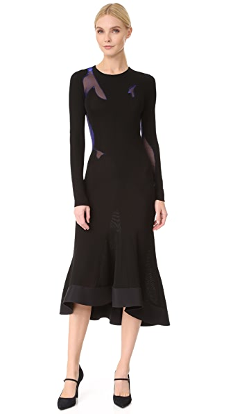 Esteban Cortazar Long Sleeve Dress