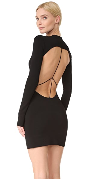Esteban Cortazar Open Back Dress