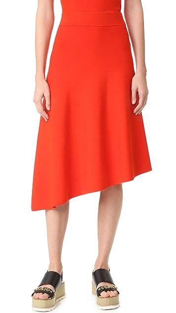 Edition10 Asymmetrical Hem Skirt