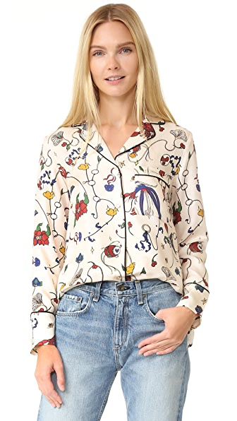 Edition10 Printed Blouse