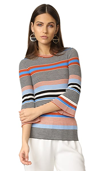 Edition10 Striped Sweater