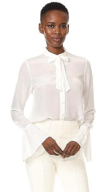 Edition10 Imitation Pearl Button Shirt