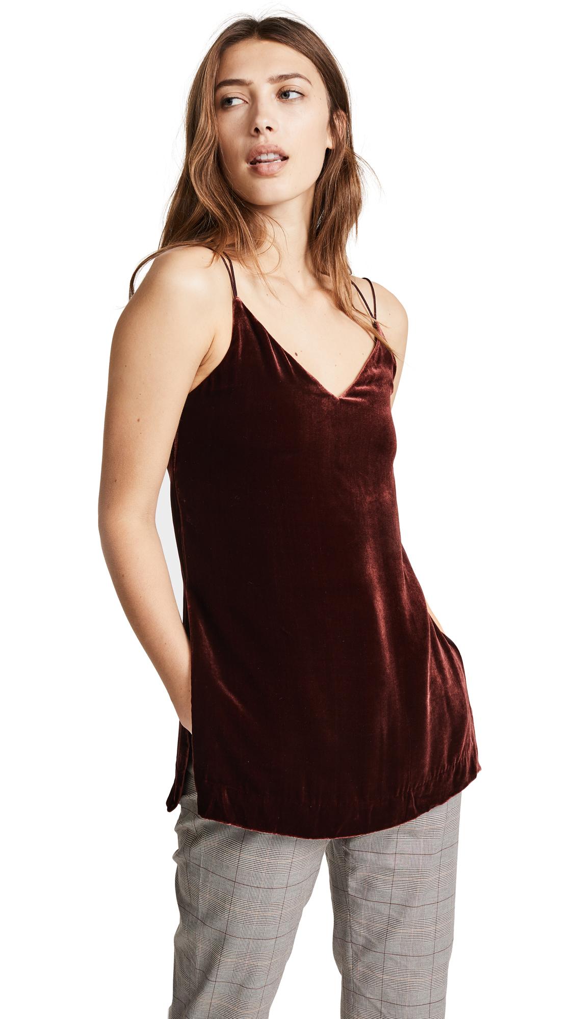 Edition10 Velvet Camisole