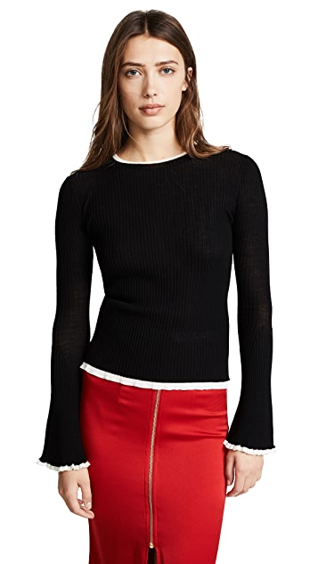 Edition10 Bell Sleeved Sweater