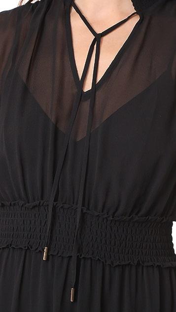 Edition10 Chiffon Midi Dress