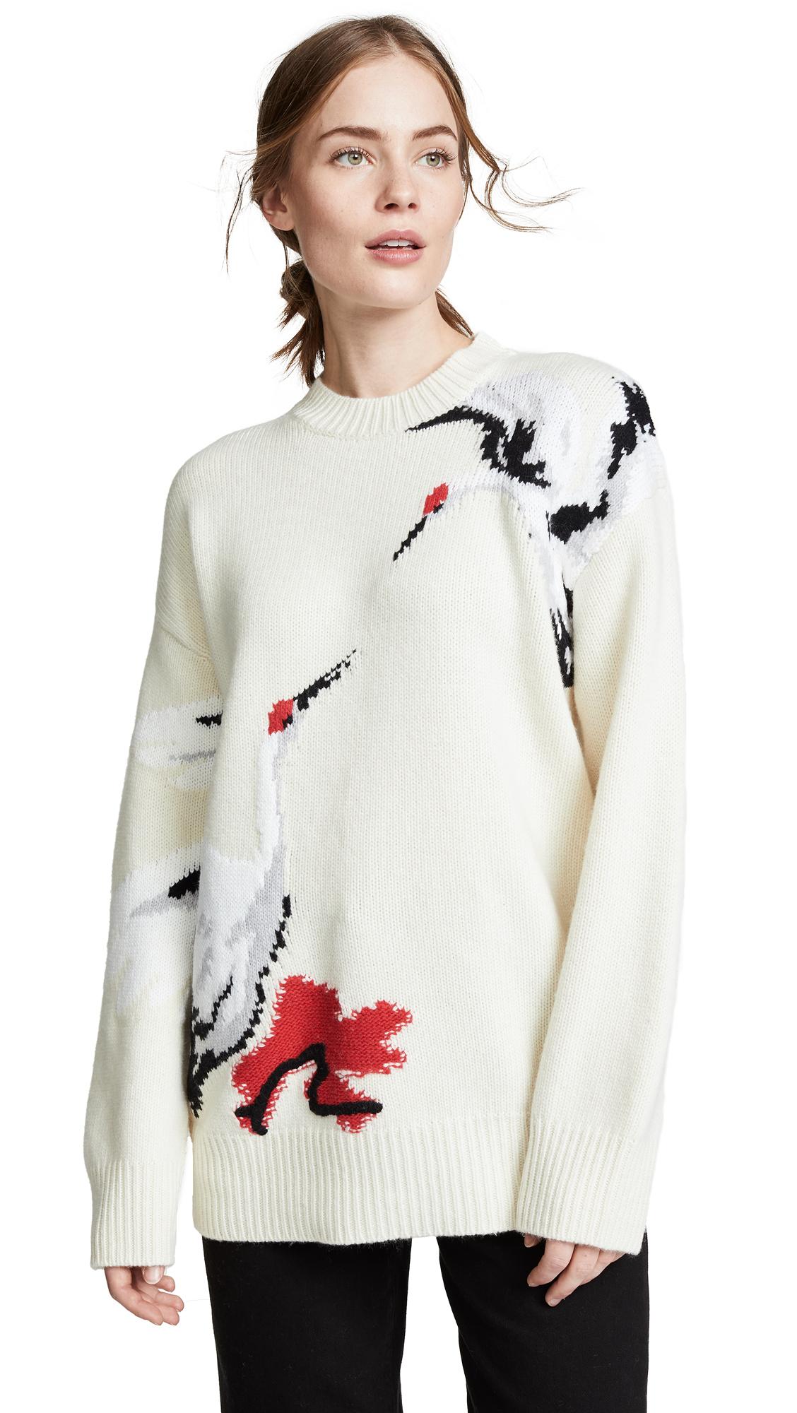 Swan Sweater in Gardenia