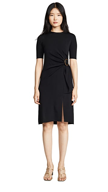 Edition10 Belted Short Sleeve Dress