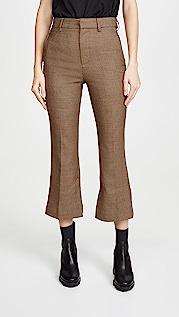 Edition10 格纹长裤