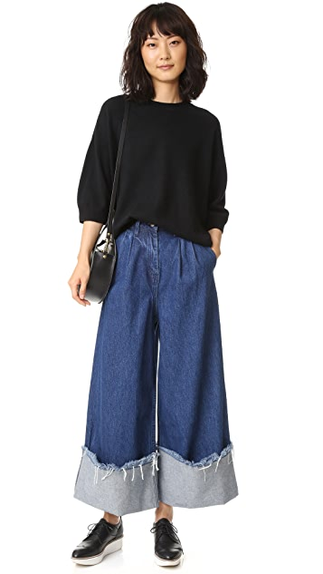 EDIT Turn Up Culottes