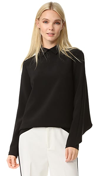 EDIT Cape Back Top with Collar