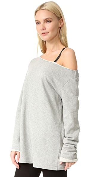 EDIT One Off Shoulder Sweatshirt