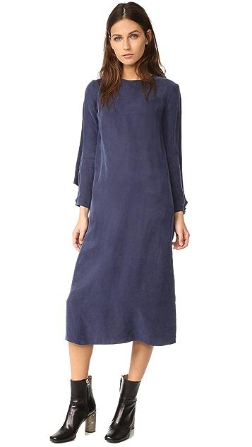 EDIT Cape Back Midi Dress